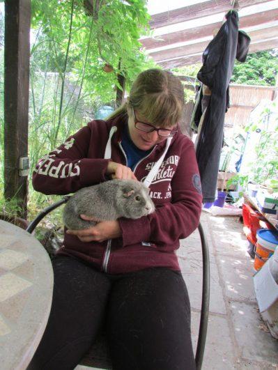 Vikki with Midge