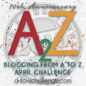 2019 A to Z badge