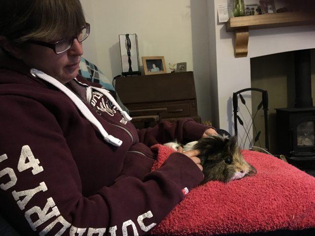 Auntie Vikki with Neville