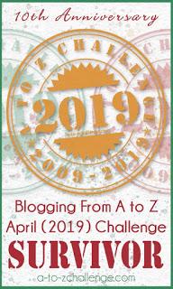 atoz challenge survivor 2019